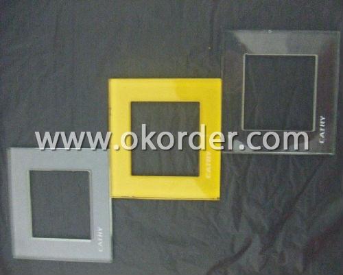 4-19 silkscreen printing glass for furniture