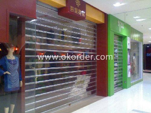 Transparent Roller Shutter door