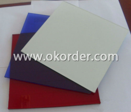 2mm/2.7mm colored sheet glass