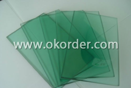 1.1mm/1.5mm sheet glass for exposition show window