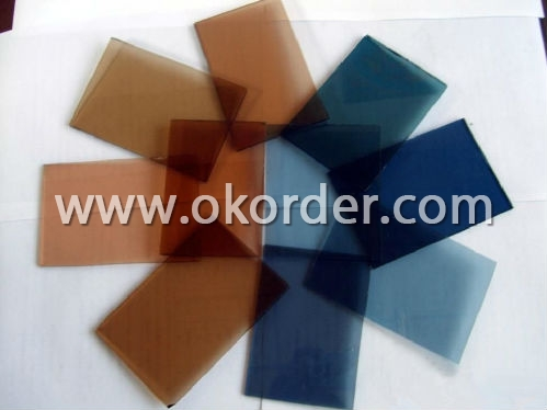 1.1mm/1.5mm/1.8mm/2mm colored sheet glass