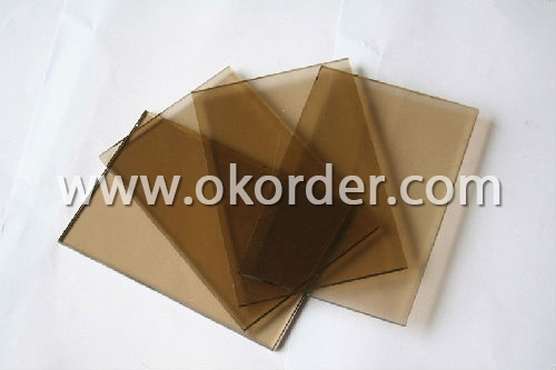 3mm bronze sheet glass