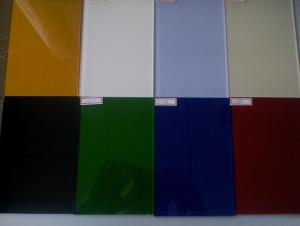 Low Temperature Painted Glass