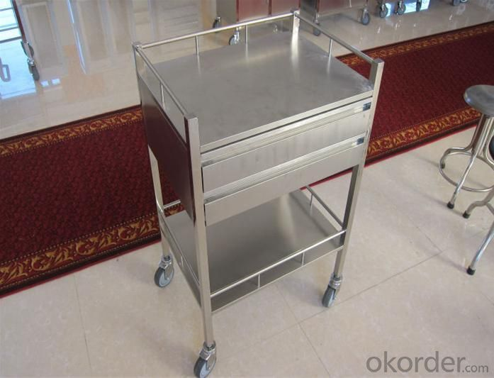 Hospital Stainless Trolley CMAX-717