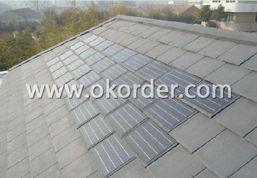 Buy synthetic slate roof tile price size weight model for 3999 roof