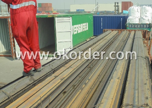 Ms Light Steel Rail Q235,55Q