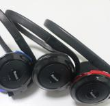 Stereo Bluetooth Headset with FM/TF Card Slot MP3 Player