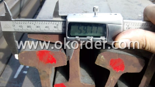 Ms Light Steel Rail Q235,55Q