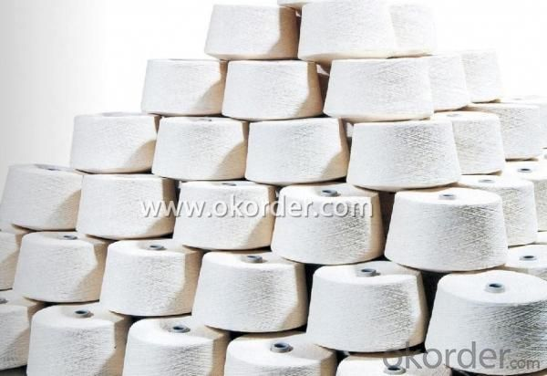 100% Organic Cotton Yarn for Knitting and Weaving