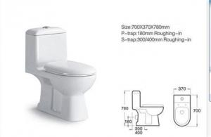 Caremic Toilet CNT-1009