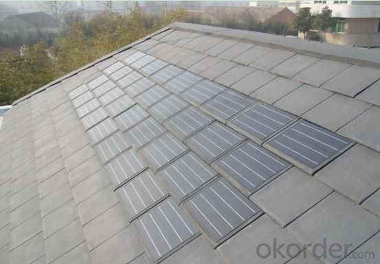 Buy Solar Photovoltaic Slate Tile Price Size Weight Model
