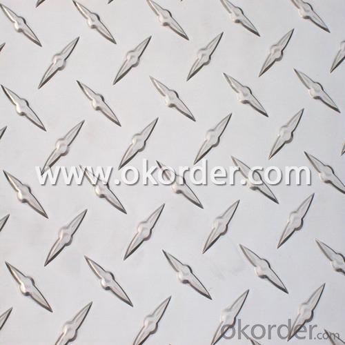 Compass Embossed Aluminium Coil (Mirror Finish)