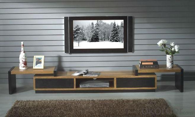 Wood Veneer TV Stand
