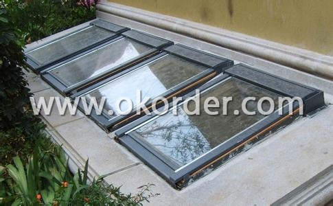 Application of Qualified Center Pivot Roof Window