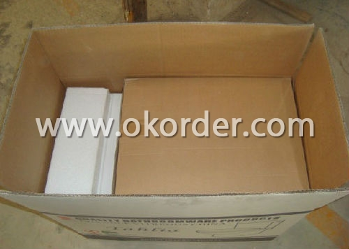 Ceramic Toilet Packing