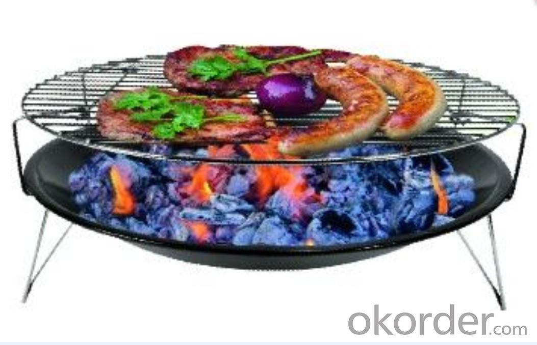 Simple Round BBQ Grill--SRAR23014E
