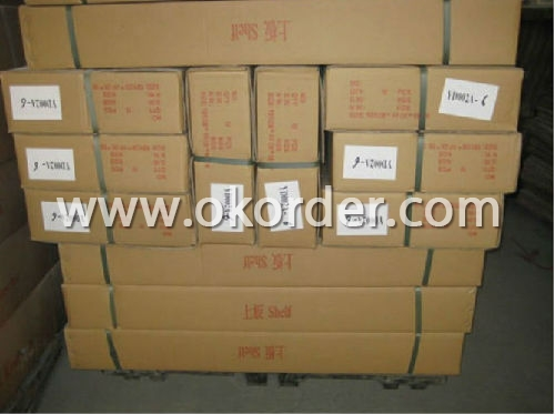 Packing of Laminate Shoe Racks