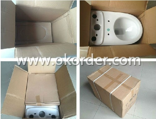 Ceramic Toilet CNT-1010 Packing