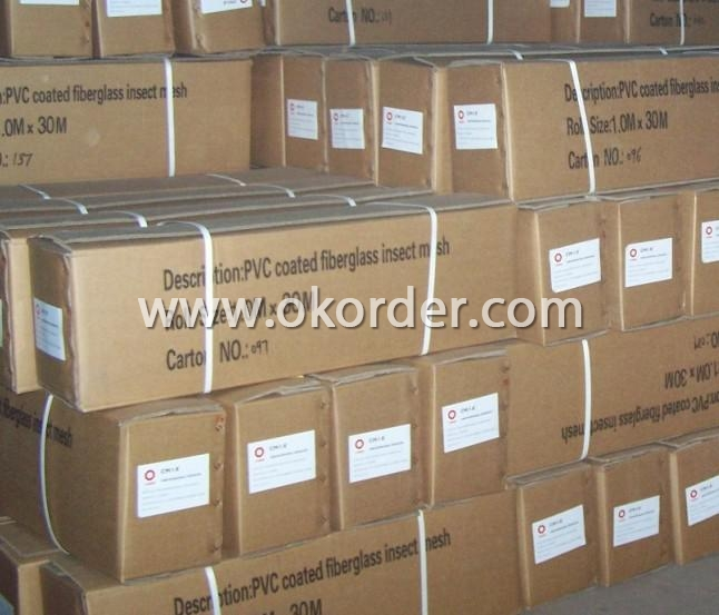 Packing of Fiberglass Wire Netting
