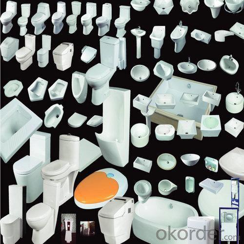 Popular Bathroom One Piece Ceramic Toilet