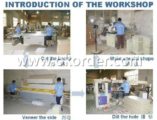 Production of Hot Sale Bathroom Vanity