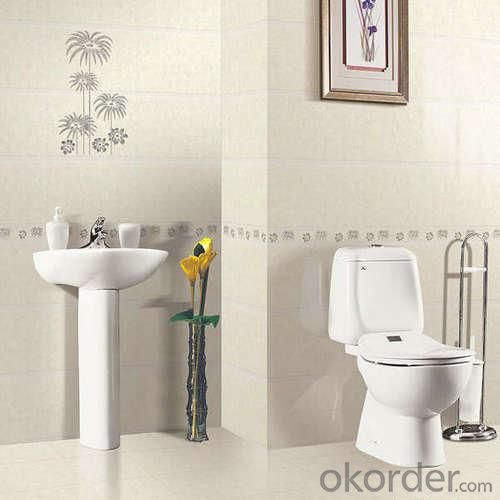 Popular Bathroom One Piece Ceramic Toilet