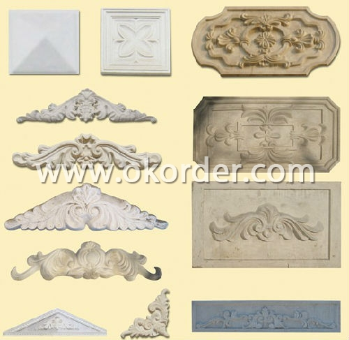 Pediment Ornament Mould For Decoration