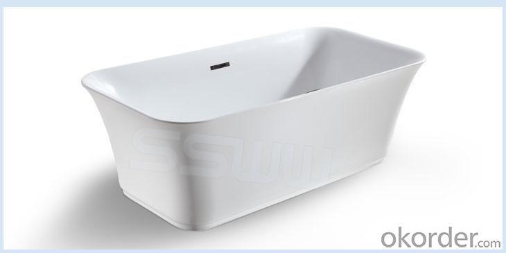 Enamel Casting Iron Bathtubs-TEL 8807