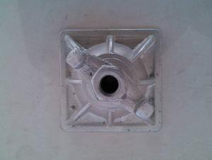 Scaffolding Parts-Galvanized Tie Rod Nut With Base Plate