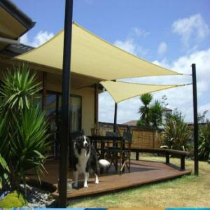 Shade Sail 210g PE for swimming pool and garden