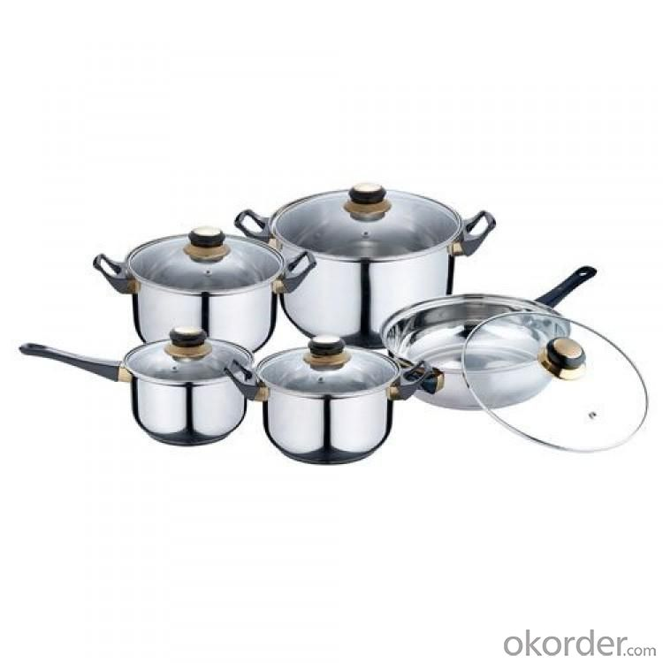 High Quality 7pcs Square Cookware Set