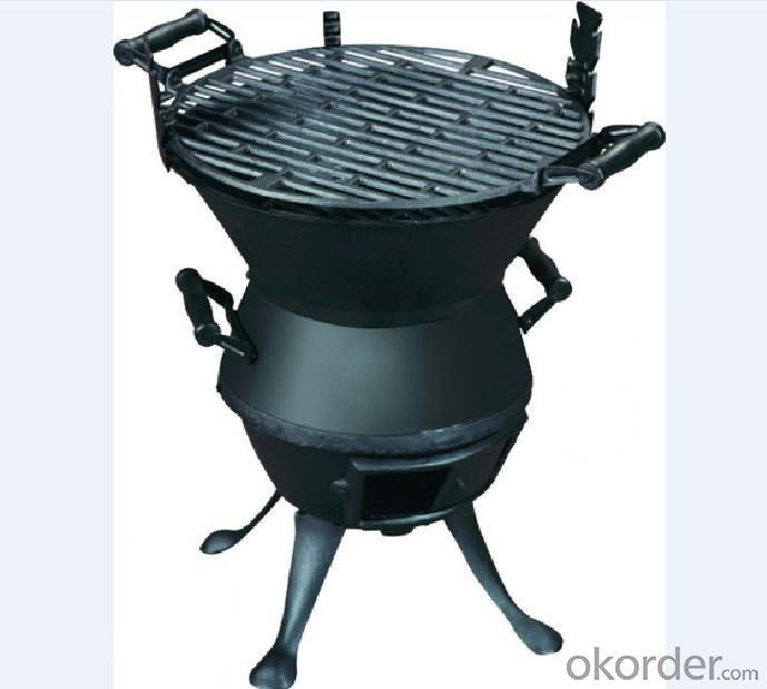 Cast Iron BBQ Grill--C632