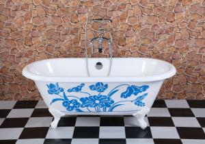 Enamel Casting Iron Bathtubs-8812