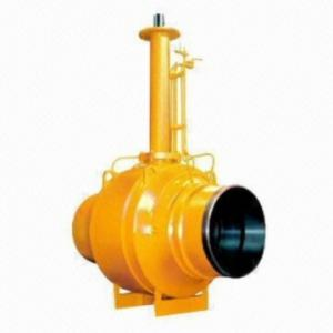 Full Welded Underground Extension Stem Ball Valve