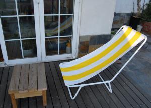 Shade sail for window and carport garden