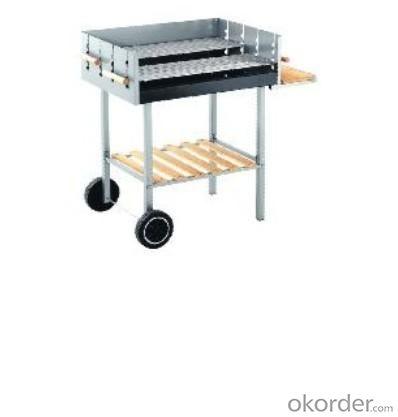 Trolley BBQ Grill--TXZ9056