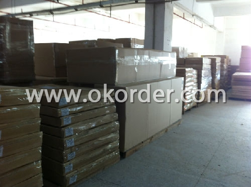 Packing of Wooden CD Rack
