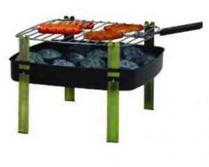 Simple Square BBQ Grill--SQAR12F