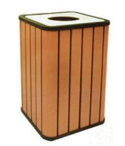 Wood Plastic Composite Dustbin CMAX H027