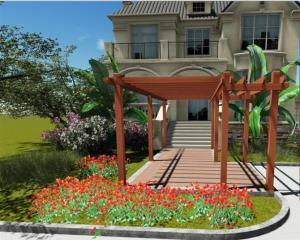 Wood Plastic Composite Landscape CMAX H007
