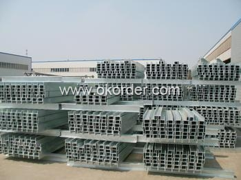 Galvanized I beam steel