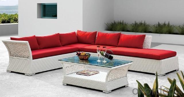 Hotel PE Rattan Weaving Sofa HC-26