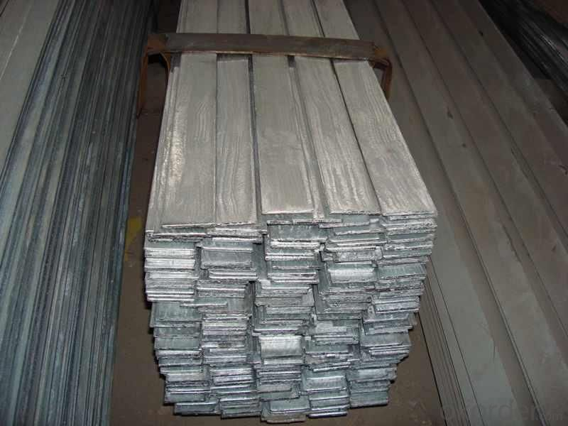 MS Galvanized Flat Bar