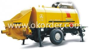 Trailer Concrete Pump HBT60C-1413D NEW