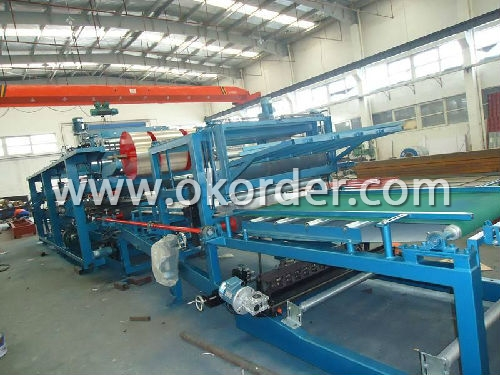 Low Pressure Continuous Sandwich Panel Poduction Line