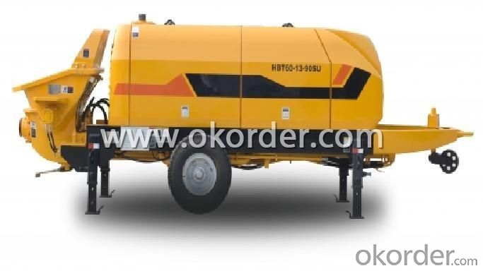 Trailer Concrete Pump HBT60.16.174RUS NEW
