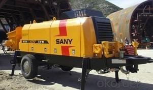 Trailer Concrete Pump HBT60C-1413D NEW