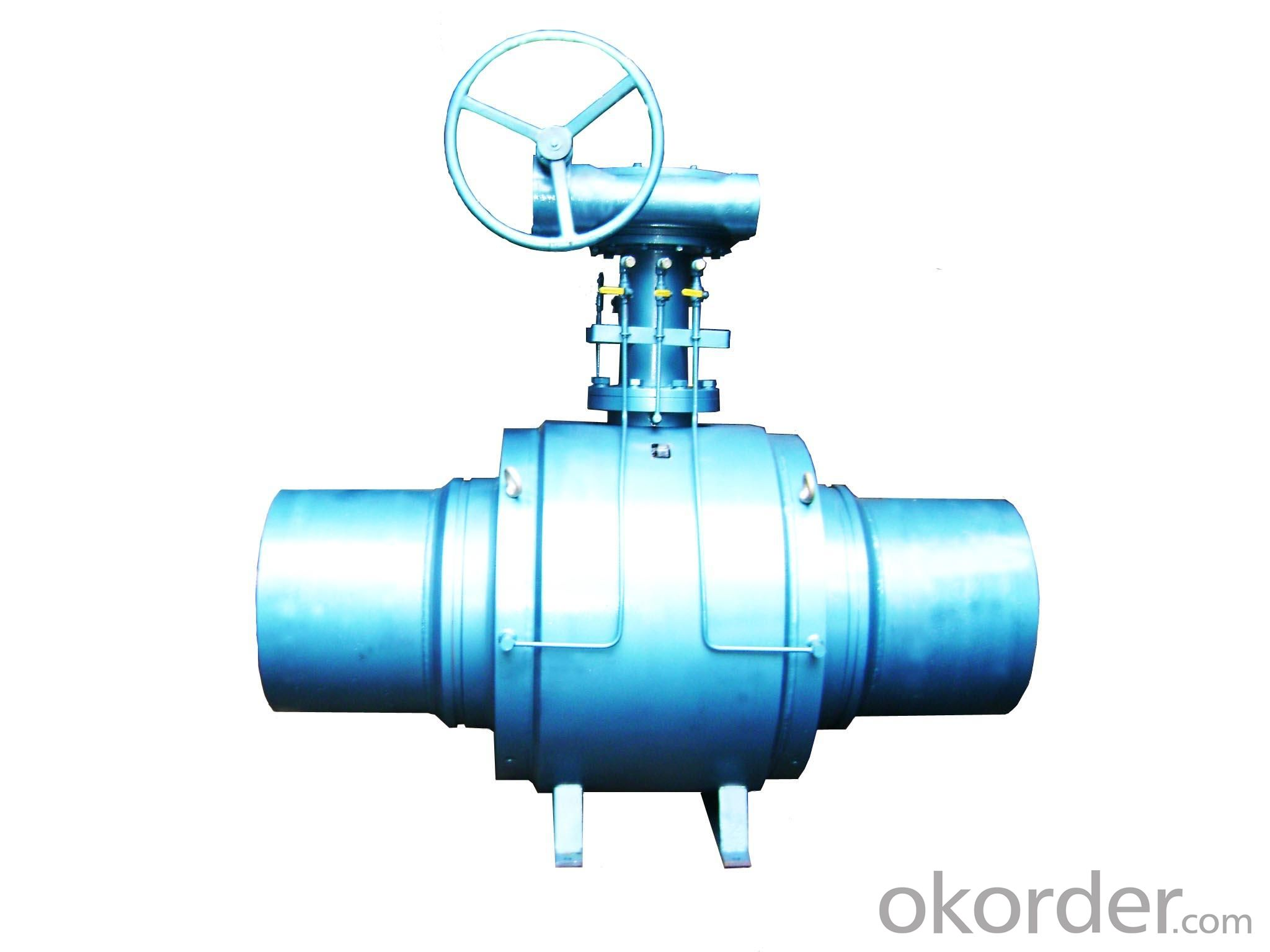 Underground Full Welded Ball Valve