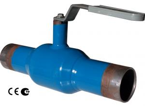 Full Welded Ball Valve for Water, Oil, Gas