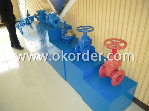 Ductile Iron Gate Valve for Water